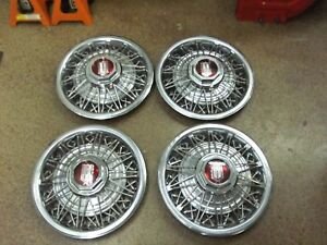 4 14 Wire Hubcaps Rims Wheel Covers Grand Marquis Mercury Ford Ltd