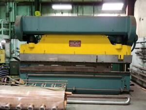 Chicago Dreis Krump 225 Ton 14 Ft Press Brake 512 d With Brake Dies