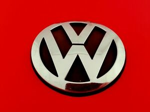 06 07 08 09 10 Vw Beetle Front Hood Chrome Emblem Logo Badge Sign Symbol Oem 06