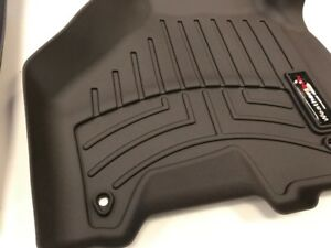 Weathertech Floorliner Mats For Silverado Sierra Crew Cab 1st Oth 2nd Row Cocoa