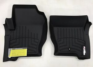 Weathertech Custom Car Truck Floor Mat Floorliner 443621 1st Row Black