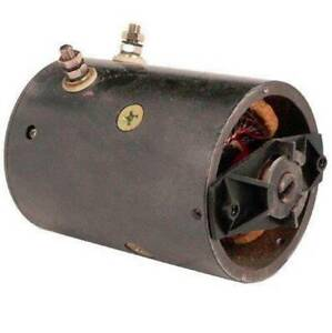 New 12v Snowplow Motor Fits Fisher Western Snowplows Mue6306 Mue6306s Mue6302