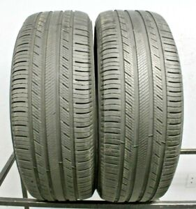 Two Used 255 55r20 2555520 Michelin Premier Ltx 6 7 32 A256