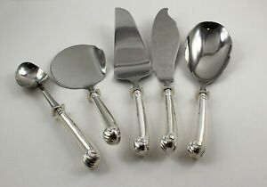 Tuttle Onslow Sterling Silver 5 Piece Serving Set No Monograms