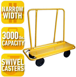 Load Capacity Drywall Cart 3000 Lb Powder coated Finish Resists rust Scratching