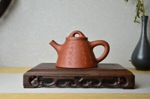 Good Clay Chinese Yixing Zisha Clay Handmade Prince Shipiao Teapot