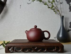 Good Clay Chinese Yixing Zisha Clay Handmade Xishi Teapot 120cc