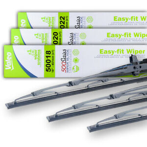 New Oem Set 18 20 22 Wiper Blades Fit Subaru Svx Lsi Lsl 92 97 86542ae10a