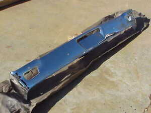 1965 1966 Plymouth Fury Front Bumper Rechrome