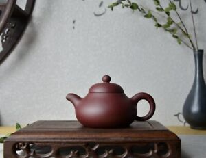 Good Clay Chinese Yixing Zisha Clay Handmade Pear Teapot 155cc