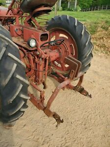 Farmall C Tractor Quick Hitch 2 Point 3 Point Farmerjohnsparts
