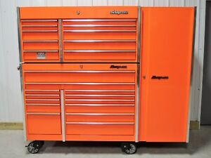 Snap On Orange Krl1022 Tool Box Krl1201 Top Chest And A Krl1012 Locker