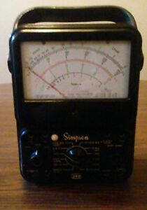 Vintage Simpson 260 Multimeter Series 6p