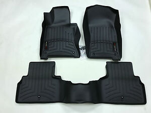 Weathertech Floor Mats Floorliner For Infiniti Q50 2014 2017 Black 44586 1 2