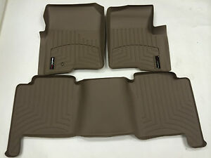 Weathertech Custom Floor Mat Floorliner 450051 450052 Front And Rear Tan