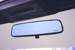 Spoon Sports Blue Wide Rear View Mirror 76400 brm 002 For Honda Accord Cl1