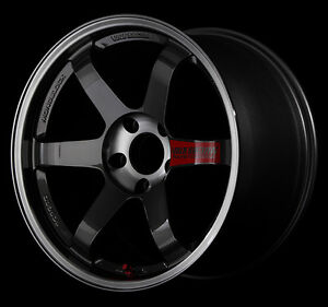 Rays Volkracing Te37sl Forged Wheels 9 0j 18 45 5x114 3 Set Of 4 From Japan