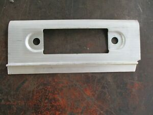 64 65 Dodge Dart Gt Dash Aluminum Trim Radio Face Bezel Oem Very Nice