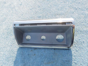 1957 1958 Ford Fairlane Custom 300 Dash Panel