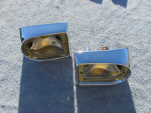1963 Rambler Classic Ambassador Station Wagon Tail Light Bezel Housings