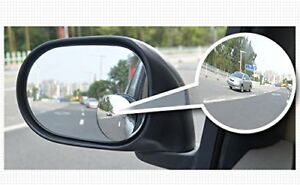 Wide Angle Rear View Stick On Blind Spot Mirrors 2 Pack Car Motorcyle 360 Degree