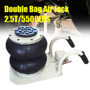 5500lbs Double Bag Air Jack Pneumatic Jack Fast Lift Lift Jack Compressed Air