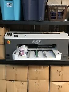 Dtg M2 And Anajet Mp5 Direct To Garment Printer Used Needs Tlc Two Printers
