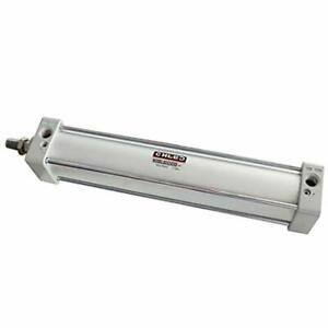Baomain Pneumatic Air Cylinder Sc 63 X 300 Pt 3 8 Bore 2 1 2 Inch Stroke 12 Inch