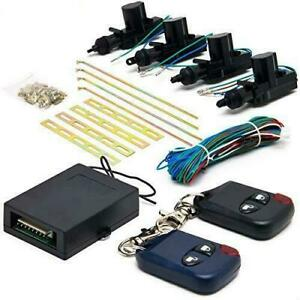 Biltek Cx 402 Conversion Kit universal Central Lock And Unlock For 2 3 4