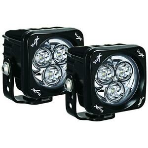 Vision X Cg2 Opm310kit Pair Of 3 7 Square 42w Multi Led Driving Light Cannons