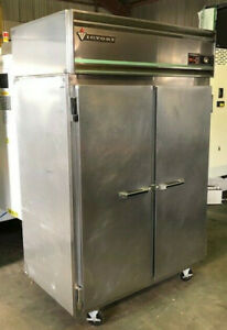 Victory Ra 2d s7 Double Door Stainless Refrigerator Reach In Used