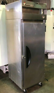 Victory Vf1 Single Door Stainless Freezer Reach In Used
