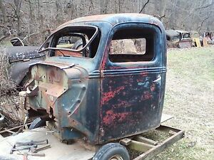 38 39 Ford Pu Truck Cab Doors Hot Rat Rod Flathead V8