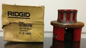 Ridgid 1 8 Unc Bolt Die Head No 00 rb