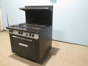 southbend Commercial Heavy Duty nsf Natural Gas 6 Burners Stove W oven