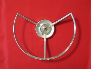 Nos 1959 Ford Fairlane 500 Steering Wheel Horn Ring 2701133
