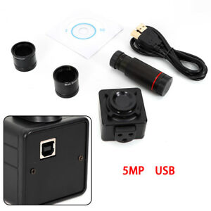 5 0 Mp Hd Usb Microscope Digital Electronic Eyepiece Camera With C Mount Adapter