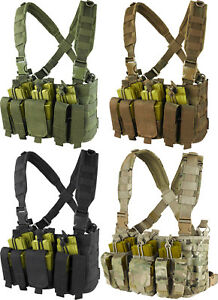 Condor MCR5 Tactical Kangaroo Magazine Pouch Military Recon Harness Chest Rig $44.95