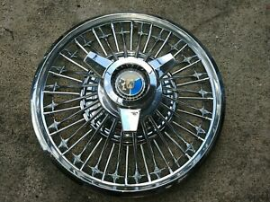 14 1964 1 2 1965 Early Ford Mustang Oem Spinner Wire Hubcap Wheelcover 1