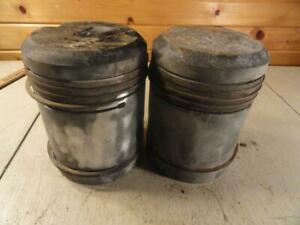 John Deere A 60 Power Block Pistons