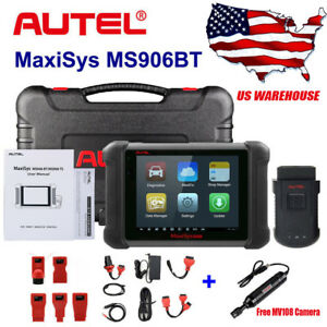 Autel Maxisys Ms906bt Bluetooth Car Diagnostic Tool Obd2 Code Reader Scanner Us