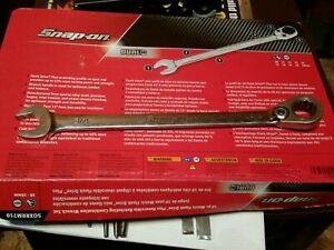 Snap On Tools 3 4 Sae Flank Drive Plus Ratcheting Combo Wrench Soexr24