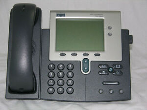 Lot Of 5 Cisco 7941g Voip Ip Business Phone Telephone W base Cp 7941g