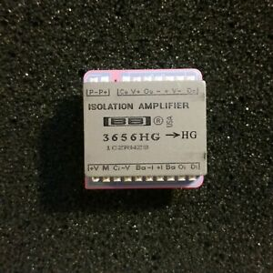 Transformer Coupled Isolation Amplifier 3656 Hg Burr brown nos