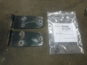 Jeep Cj7 Cj8 Wrangler Yj 76 93 Driver Side Full Hard Door Hinge Set
