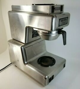 Vintage 50 s Diner Bunn o matic Ot15 Coffee Maker Brewer Automatic Line Feed