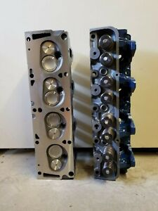 Bb Fe Ford Big Block Mild High Perf Cyl Heads Small Port 332 352 360 390 410 428