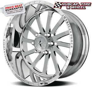 American Force Burnout Ss6 Mirror Polish 20 X10 Wheels Rims 6 Lug Set Of 4 New