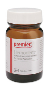 40 Cc Premier Hemodent Buffered Hemostatic Solution Topical Application Fda