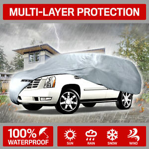 Van Suv Car Cover For Chevrolet Suburban Motor Trend Uv Dirt Scratch Resistant